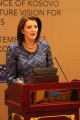 President Jahjaga's speech at the festive dinner reception held on the occasion of the end of the supervision of independence